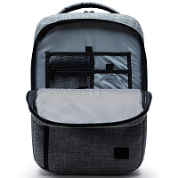 Herschel TRAVEL DAYPACK Raven Crosshatch