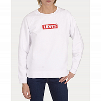 Levi's® RELAXED GRAPHIC CREW CREW BOX TAB WHITE