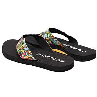 69slam UPPER PRINTED SANDALS CUBISM MOCK