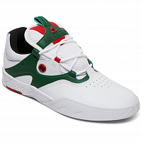 DC KALIS SE M SHOE WHITE/GREEN