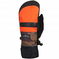 686 MNS INFILOFT RECON MITT SOLAR ORANGE COLORBLOCK