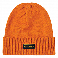 RVCA HI VIS BEANIE ORANGE