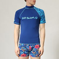 69slam KOA S/S RASH VEST CANDY SPLASH