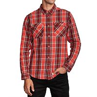 RVCA THATLL WORK FLANNEL BAKED APPLE