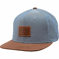 Element COLLECTIVE CAP A BLUE CHAMBRAY
