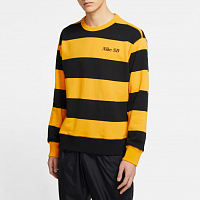 Nike M NK SB NOVELTY CREW UNIVERSITY GOLD/BLACK/BLACK