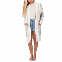 Rip Curl THE NOMADIC CARDIGAN OFF WHITE