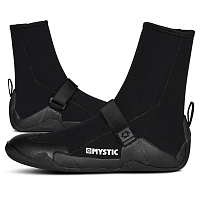 Mystic STAR BOOT 5MM ROUND TOE BLACK