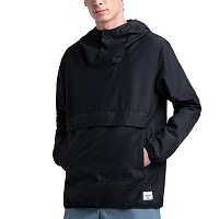 Herschel PACKABLE ANORAK BLACK