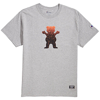 Grizzly OG BEAR FADEAWAY S/S HEATHER GREY