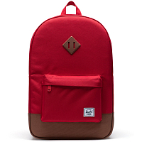 Herschel Heritage RED/SADDLE BROWN