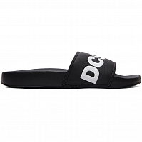DC DC Slide M Sndl BLACK/WHITE