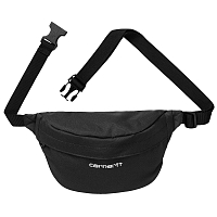Carhartt WIP Payton HIP BAG Black / White