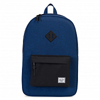 Herschel Heritage Eclipse Crosshatch/Black Rubber