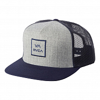 RVCA VA ALL THE WAY TRUCK NAVY RUST