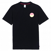 Herschel Men's TEE TWO TONE LOGO STAMP BLACK