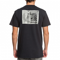 DC DOUBLE PLATINUM M TEES BLACK