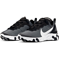 Nike REACT ELEMENT 55 SE BLACK/WHITE