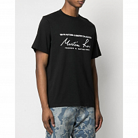 MARTINE ROSE Classic S/S T-shirt BLACK