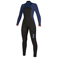 Mystic DAZZLED FULLSUIT 5/3MM DOUBLE FZIP WOMEN NAVY