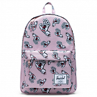 Herschel STUDIO CLASSIC X-LARGE PALE MAUVE SCREAMING HAND