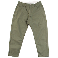 ENGINEERED GARMENTS PEG JEAN OLIVE COTTON RIPSTOP