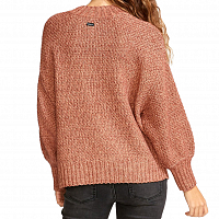 RVCA VOLT SWEATER NUTMEG