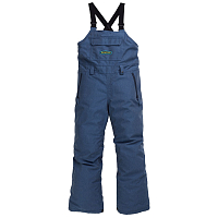 Burton KD Skylar BIB LIGHT DENIM