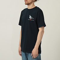 Anti-Hero S/S LIL PIGEON NAVY