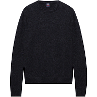 Paul & Shark COLOURS OF SHETLAND ROUNDNECK SWEATER Charcoal