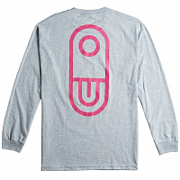 Airblaster TEAM LS TEE HEATHER GREY