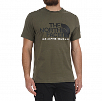 The North Face M SS FINE ALP TEE 2 NWTPEGRN/T (BQW)
