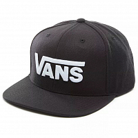 Vans DROP V II SNAPBACK Black-White