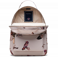 Herschel NOVA MID-VOLUME NATURAL BIRDS