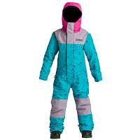 Airblaster YOUTH FREEDOM SUIT HE TEAL/DK LAVENDER