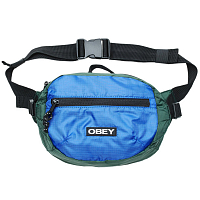 OBEY COMMUTER WAIST BAG SKY BLUE MULTI
