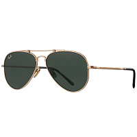 Ray Ban 0RB8125 BRUSCHED DEMI GLOSS WHITE GOLD/GREEN