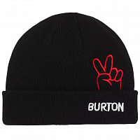 Burton TODDLER BEANIE TRUE BLACK