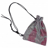 paria /FARZANEH Print Mesh BAG DUCK EGG
