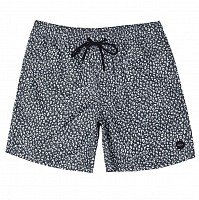 RVCA CLUB ELASTIC SHORT BLACK