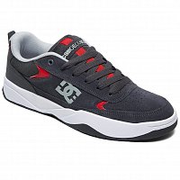 DC PENZA M SHOE GREY/GREY/RED