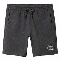 Vans OG CHECKER FLEECE SHORT BLACK HEATHER