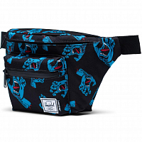 Herschel SEVENTEEN BLACK CYAN SCREAMING HAND