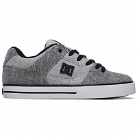 DC PURE TX SE M SHOE GREY/WHITE/GREY