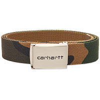 Carhartt WIP Clip Belt Chrome CAMO LAUREL