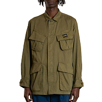 STAN RAY TROPICAL JACKET OLIVE TAFFETA