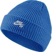 Nike U NK BEANIE FISHERMAN PACIFIC BLUE/WHITE