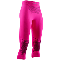 X-Bionic ENERGIZER 4.0 PANTS 3/4 WMN NEONFLAMINGO/ANTHRACITE
