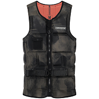 Mystic Majestic Impact Vest Fzip Buckle Wake BRAVE GREEN