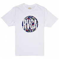 RVCA BIG MOTORS SS White